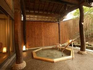 【貸切風呂】「風の湯」は自家源泉のアルカリ温泉です