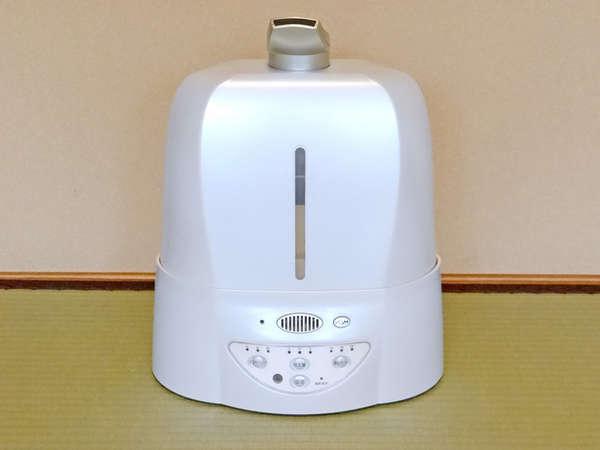 超音波除菌消臭噴霧器(※お部屋に1台設置)