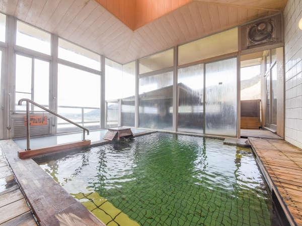 *【温泉/内湯大浴場】入浴は男女入れ替え制。午前と午後でご滞在中6種の風呂をお楽しみ頂けます。