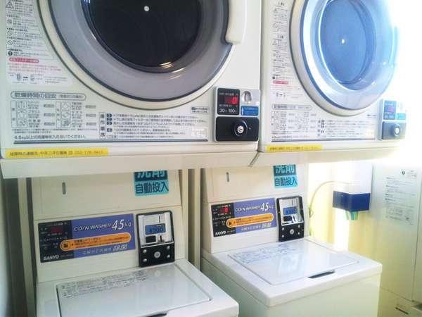 コインランドリー 2・3階に設置♪□洗濯1回300円  □乾燥機30分100円