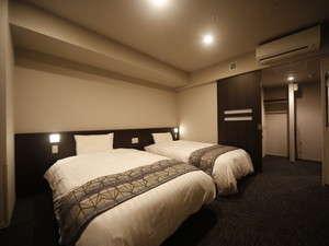 ◇禁煙◇ツインルーム 20平米 ベッド110-120×195センチ