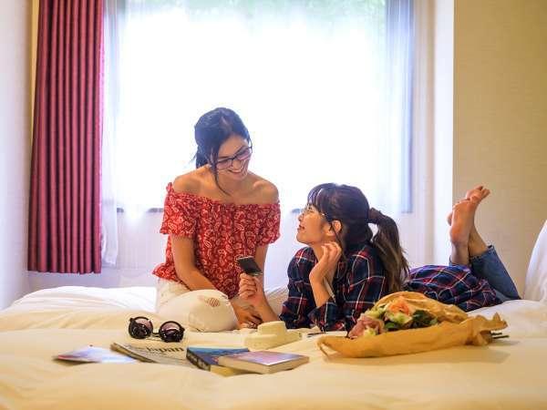 <イメージ>「女子旅」や「母娘旅」の楽しさを加速する空間で、豊かな滞在をどうぞ