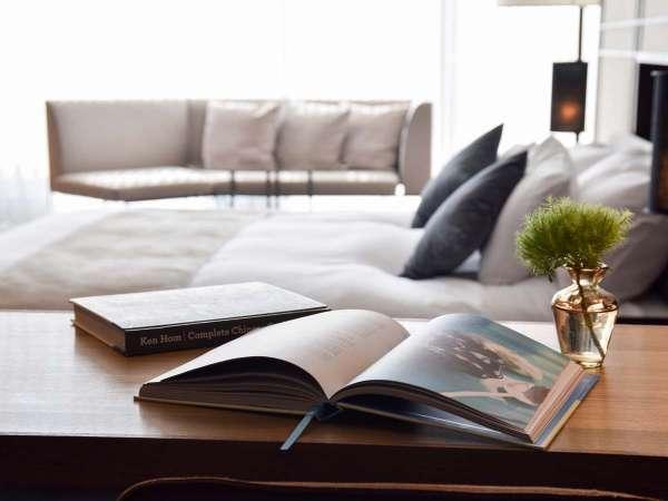 【*お部屋】好きな本を読みながら、自分のためにゆっくりと過ごすご褒美旅に。