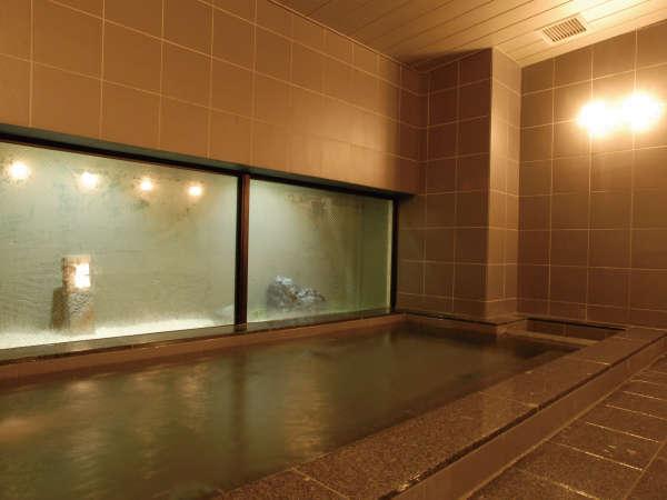 [男女別大浴場 男湯] 利用時間 16:00~24:00  朝6:30~朝9:00