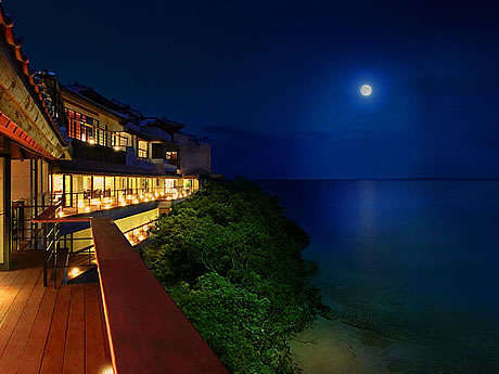 展望:百名伽藍の月夜