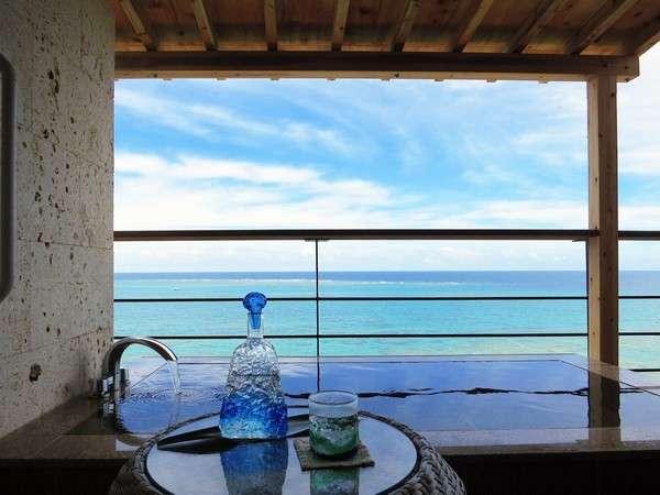 露天風呂:方丈庵 海を眺めながらゆっくりと。。