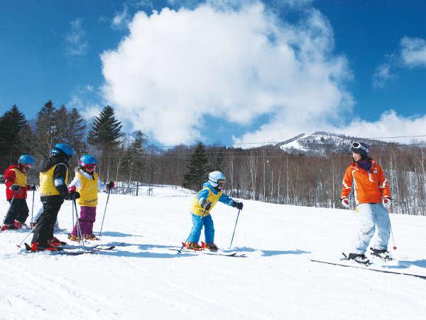 ウィンタースポーツ/G.Oによるスキーレッスンも充実。