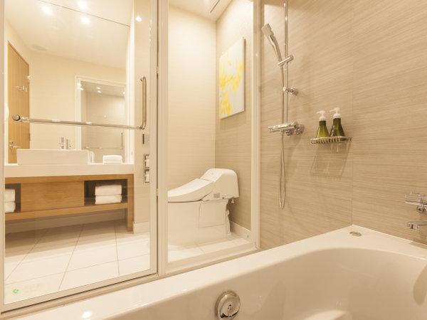 スーペリアツイン・ダブル バスルーム一例