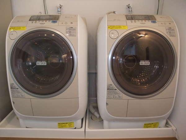 ご宿泊者様専用洗濯機(無料/洗剤はフロントにて150円にて販売)