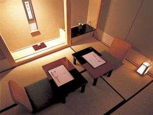 個室のお食事場所