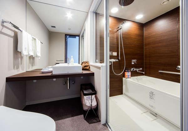 スタンダードAバスルーム♪セパレートタイプのバス、トイレは魅力的♪