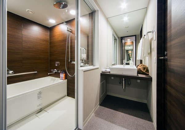 ツインバスルーム♪セパレートタイプのバス、トイレは魅力的♪