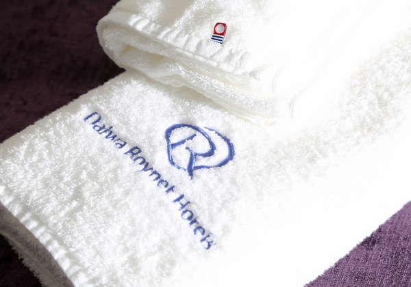ホテルおすすめ♪ふわふわ今治タオルでいつもより快適なバスタイムを・・☆