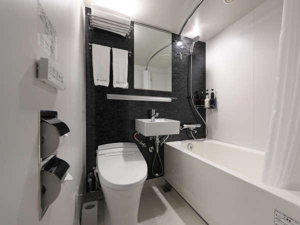 シングル・セミダブル・ダブルのバスルームはユニットバスタイプ