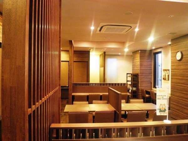 ☆いい匂いの立ち込めるレストラン