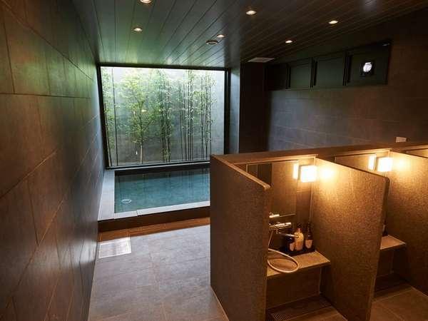 【浴場】17:00~25:00、翌朝5:30~9:00(男性浴場にはサウナ完備)
