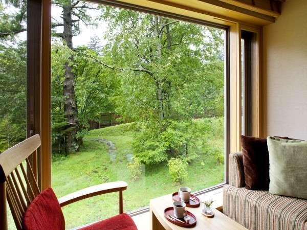 【和洋室例】緑鮮やかな景色でリフレッシュ