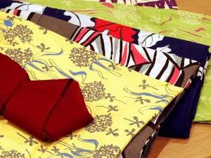 竹久夢二デザインの色浴衣