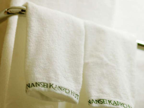 *バスタオルやフェイスタオルを始め、充実したアメニティを揃えております。