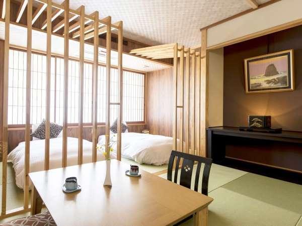【久遠倶楽部】 最上階にある 和室+ベッドタイプのお部屋 最大定員4名様