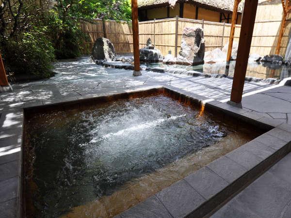 男性露天風呂のジャグジー風呂