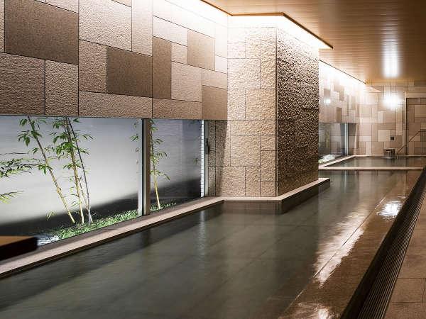 【女性大浴場】人工炭酸泉備え付けの自慢の大浴場です☆好評をたくさん頂いでおります!