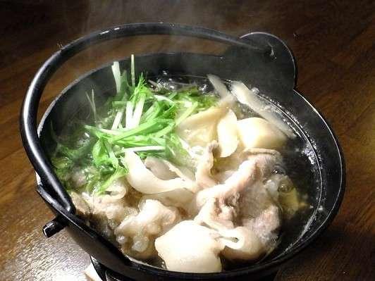 きなり館冬の定番メニュー!滋養豊富「猪鍋」