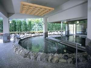 解放感のある露天風呂