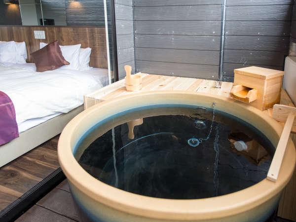 【全客室露天風呂付】24時間いつでも入浴いただけます。