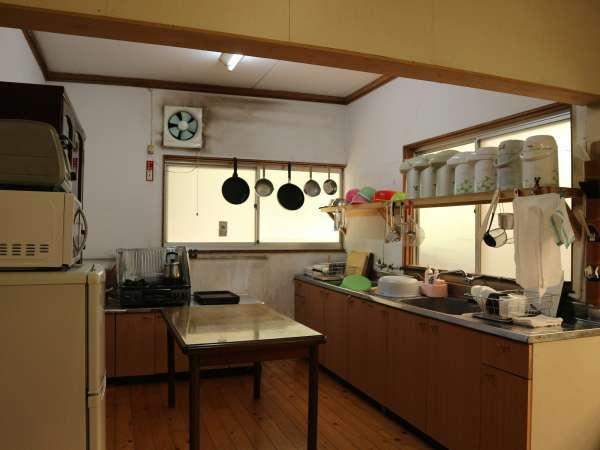 *【共有キッチン】こちらで炊事も可能です。ご自由にお使い下さい。