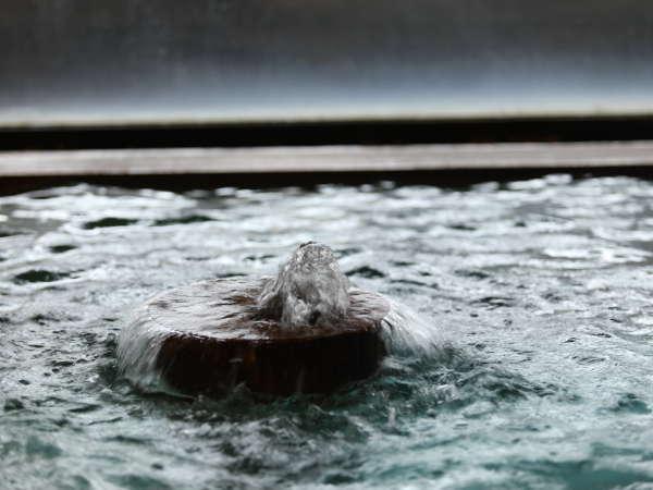 ■こんこんと溢れ出る浅間の湯