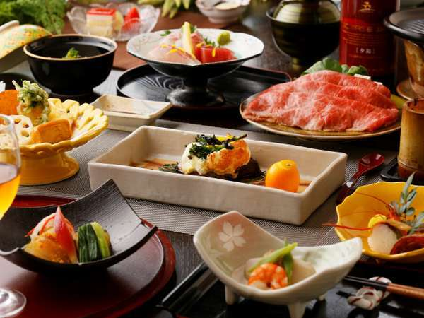 御夕食「山里郷土料理」Dinner