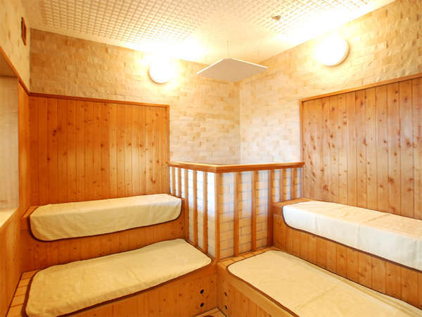 【大浴場内サウナ】サウナも無料でご利用頂けます。