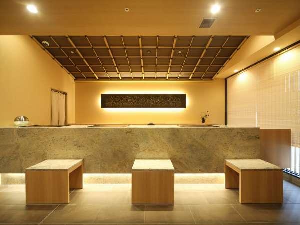 ■1階 帳場(フロント)