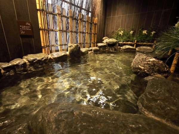■外気浴(岩風呂)