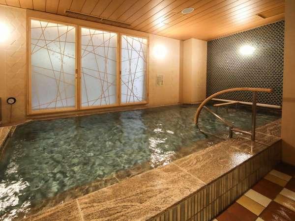 【女性】内風呂(天然温泉:湯温40~41℃)
