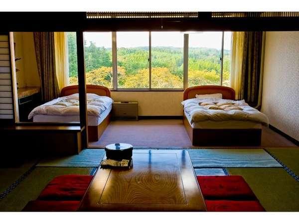 【本館 特別室一例】四季折々の景色に癒されます。