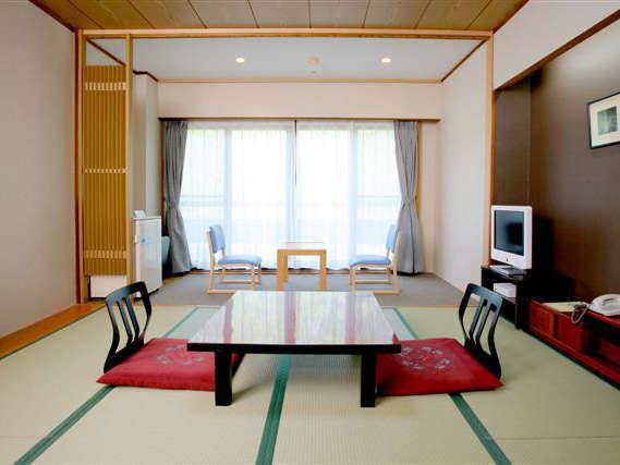 本館客室(一例)広々とした清潔感あふれる和室をご用意しております。