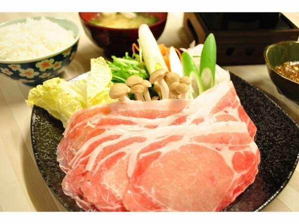 三元ホエ―豚しゃぶしゃぶ