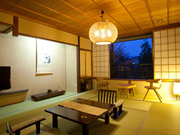 【一般客室12畳】12畳タイプのお部屋。落ち着きのある和室です(写真は一例)
