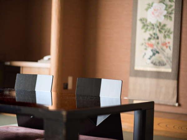 ◇和室ではお部屋でモール温泉が楽しめます