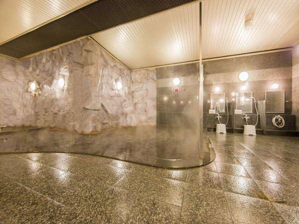 ◇駅前の天然温泉大浴場!