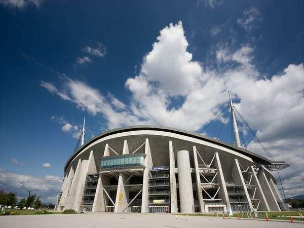 豊田スタジアムへは一番近いホテルです。イベントや試合観戦の際には当ホテルが便利です!