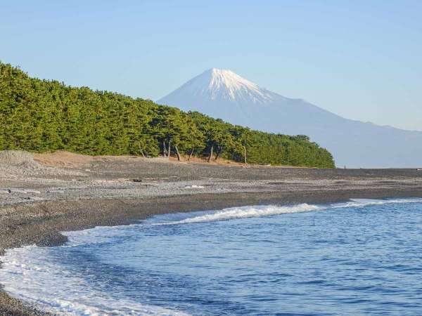 *【周辺観光】三保松原/ここから眺める富士山は格別