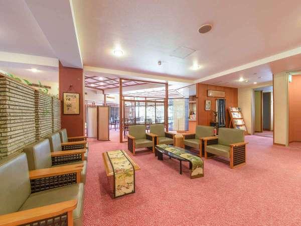 *【ロビー】落ち着いた日本旅館でごゆっくりお過ごしください