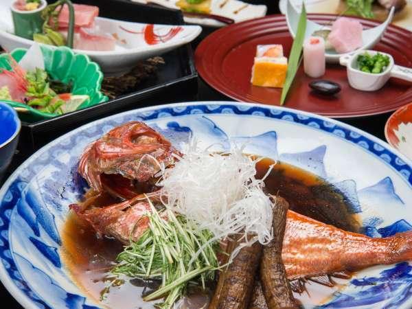 *【夕食】金目鯛の煮付け/金目鯛の煮付けプランまたは別注でお召し上がりいただけます