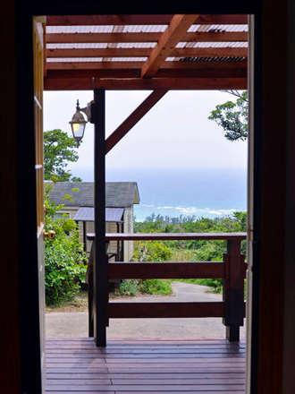 スイートダブルの部屋から海の眺め