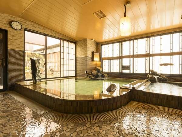 ◆大浴場 男性内湯(約42℃)