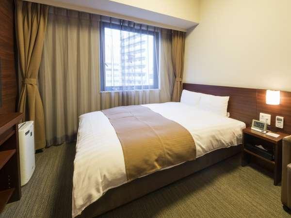 ◆ダブルルーム14平米 ベッド幅140cm×195cm