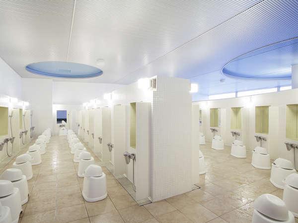 7階展望大浴場(洗い場)